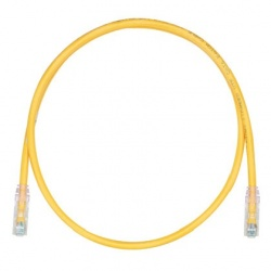 Panduit Cable Patch Cat6 UTP, RJ-45 Macho - RJ-45 Macho, 2.7 Metros, Amarillo