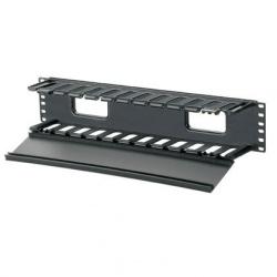 Panduit WMPF1E Organizador de Cable Sencillo para Rack de 19'\