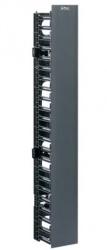 Panduit Organizador Vertical Sencillo para Rack, 2.1 Metros