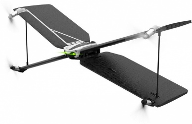 Parrot Swing + Flypad, 4 Rotores, hasta 60 Metros, Negro/Plata