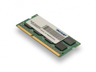 Memoria RAM Patriot PC3-10600 DDR3, 1333MHz, 2GB, Non-ECC, CL9, SO-DIMM