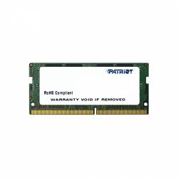 Memoria RAM Patriot DDR4, 2133MHz, 4GB, Non-ECC, CL15, SO-DIMM