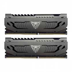 Kit Memoria RAM Patriot Viper Steel Gray DDR4, 4400MHz, 16GB (2x 8GB), Non-ECC, CL19