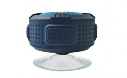 Perfect Choice  Bocina Recargable PC-112648, Bluetooth, Azul - Resistente al Agua