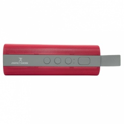 Perfect Choice Bocina Portátil PC-112990, Bluetooth, Inalámbrico, Rojo