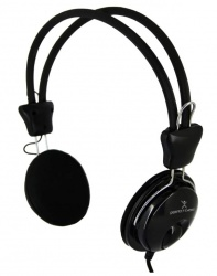 Perfect Choice Audífonos con Micrófono PC-113171, Alámbrico, 1.5 Metros, 3.5mm, Negro