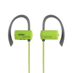 Ginga Audífonos Intrauriculares Deportivos con Micrófono Free Motion, Inalámbrico, Bluetooth, Verde