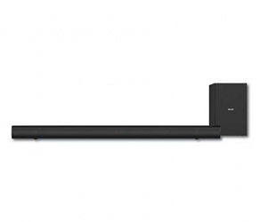Philips Barra de Sonido con Subwoofer HTL1520B/37, Bluetooth, Alámbrico/Inalámbrico, 2.1, 70W RMS, Negro