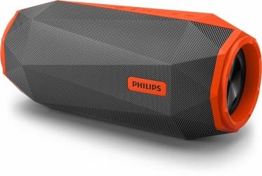 Philips Bocina Portátil SB500M/00, Bluetooth, Alámbrico/Inalámbrico, 2.0 Canales, 30W RMS, Naranja