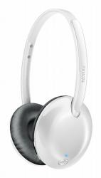 Philips Audífonos con Micrófono SHB4405WT/00, Alámbrico, Bluetooth, Blanco