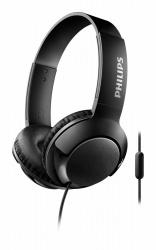 Philips Audífonos SHL3075BK/00, Alámbrico, 1.2 Metros, 3.5mm, Negro