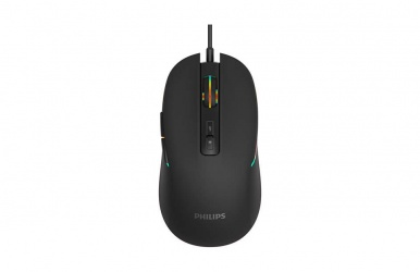 Mouse Gamer Philips Óptico Momentum G414, Alámbrico, USB, 3200 DPI, Negro