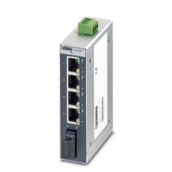 Switch Phoenix Contact Fast Ethernet SFNB 4TX/FX, 4 Puertos 10/100Mbps - No Administrable