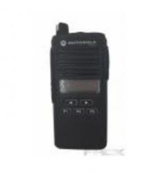 Phox Funda Reforzada de Plástico, Negro, para Motorola EP350
