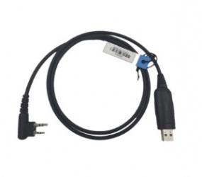 Phox Cable Programador para Radios Hytera, 10cm, Negro