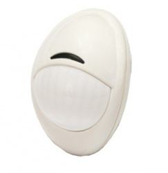 PIMA Sensor de Movimiento PIR de Montaje en Pared 540-0011, Inalámbrico, 10 Metros, Blanco