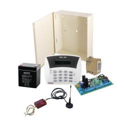 PIMA Kit de Alarma HUNTER6-MINI, Inalámbrico, Incluye Teclado/Gabinete/Batería/Transformador
