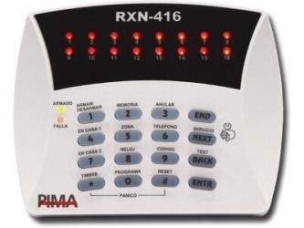 PIMA Teclado para Sistemas de Alarma Hunter8 y Serie HunterPro