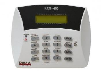 PIMA Teclado RXN-400, Alámbrico, Blanco, para Capitán-6/Hunter-Pro/Hunter-6/8