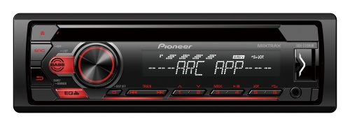 Pioneer Autoestéreo DEH-S1150UB, 200W, MP3/CD/AUX/USB, Negro