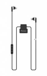 Pioneer Audífonos Intrauriculares con Micrófono ClipWear Active, Inalámbrico, Bluetooth, Negro/Blanco
