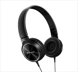 Pioneer Audífonos SE-MJ522, Alámbrico, 1.2 Metros, 3.5mm, Negro