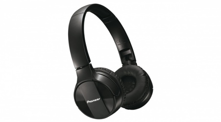 Pioneer Audífonos SE-MJ553BT, Bluetooth, Inalámbrico, Negro