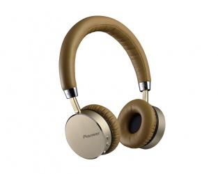 Pioneer Audífonos SE-MJ561BT, Bluetooth, Inalámbrico, Dorado