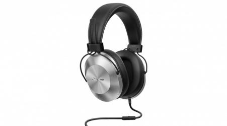 Pioneer Audífonos con Micrófono SE-MS5T, 1.2 Metros, 3.5mm, Plata