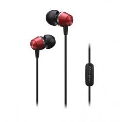 Pioneer Audífonos Intrauriculares SE-QL2T, Alámbrico, 1.2 Metros, 3.5mm, Rojo