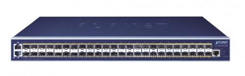 Switch Planet Gigabit Ethernet GS-6320-46S2C4XR, 46 Puertos 100/1000BASE-X + 2 Gigabit TP/SFP + 4 10G SFP+, 176Gbit/s, 16.000 Entradas - Gestionado