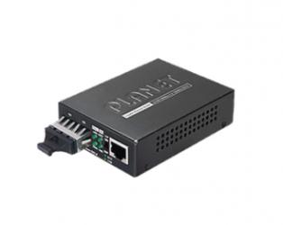Planet Convertidor de Medios Gigabit Ethernet a Fibra Óptica SX/LX, 100Km, 1000 Mbit/s
