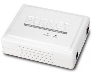 Planet Inyector PoE POE-161, 2 Puertos RJ-45, IEEE 802.3af