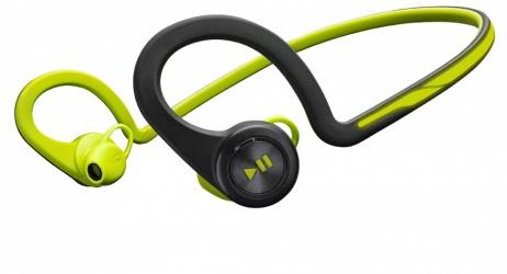 Plantronics Audífonos Deportivos con Micrófono BackBeat FIT, Inalámbrico, Bluetooth 3.0, Verde