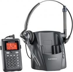 Plantronics Teléfono de Diadema CT14, Inalámbrico, DECT 6.0, Negro