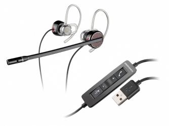 Plantronics Audífonos Blackwire 435 Monoaural/Stereo, Alámbrico, USB, Negro