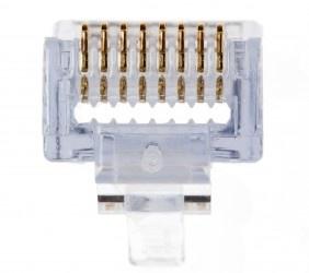 Platinum Tools Conector EZ-RJ45 Cat5/5e, Transparente, 100 Piezas