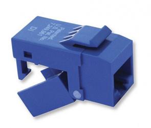 Platinum Tools Conector EZ-SnapJack Cat5e, Azul