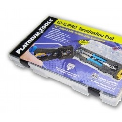 Platinum Tools Kit Completo EZ-RJPRO, RJ-11/RJ-12/RJ-45