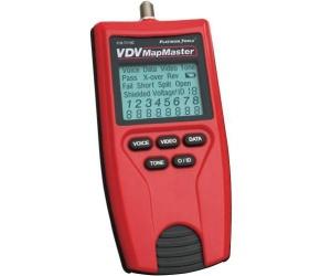 Platinum Tools Probador VDV MapMaster 2.0, Rojo