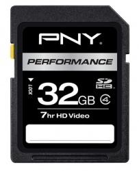 Memoria Flash PNY Performance, 32GB SDHC Clase 4