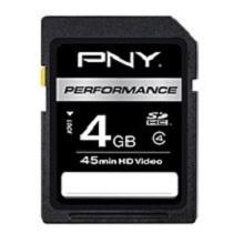 Memoria Flash PNY Performance, 4GB SDHC Clase 4