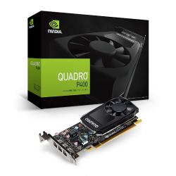 Tarjeta de Video PNY NVIDIA Quadro P400, 2GB 64-bit GDDR5, PCI Express 3.0 - incluye 3 Adaptadores Mini DisplayPort a DisplayPort