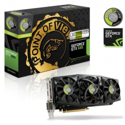 Tarjeta de Video Point of View NVIDIA GeForce GTX 680 EXO, 2GB 256-bit GDDR5, PCI Express 3.0
