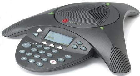 Polycom Teléfono Análogo SoundStation2, Alámbrico, 300 - 3300Hz