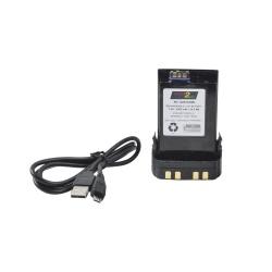 Positive Charge Batería Recargable para Radio PC-NNTN-8092, Li-Pol, 3000mAh, 12V, para Motorola
