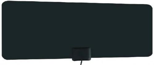 Power & Co Antena de Television HD para Interiores HD Flat X100, UHF, Negro