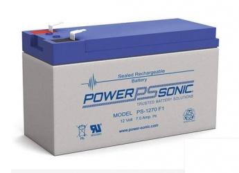 Power-Sonic Batería de Reemplazo para No Break PS-1270 F1, 12V, 7Ah