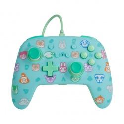 Powera Control Pro Switch Animal Crossing, Alámbrico/Inalámbrico, Azul/Verde/Turquesa