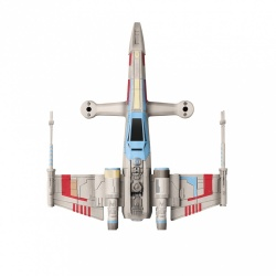 Drone Propel Star Wars T-65 X-Wing Starfighter, 4 Rotores, 30 Metros, Multicolor